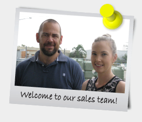 eNewsletter February 2014 - Welcome to our sales team!