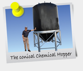 eNewsletter April 2013 - The conical Chemical Hopper