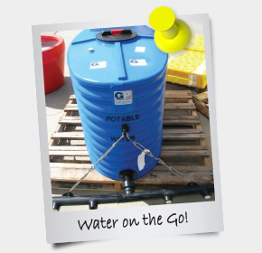 eNewsletter October 2013 - Water on the go!