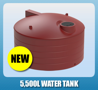 Latest Domestic Product - 5,500L Water Tank